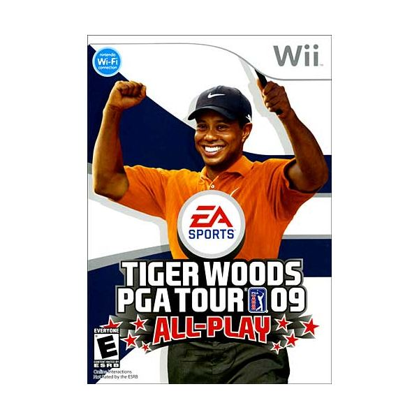 Tiger Woods PGA Tour 09 All-Play Review for Nintendo Wii