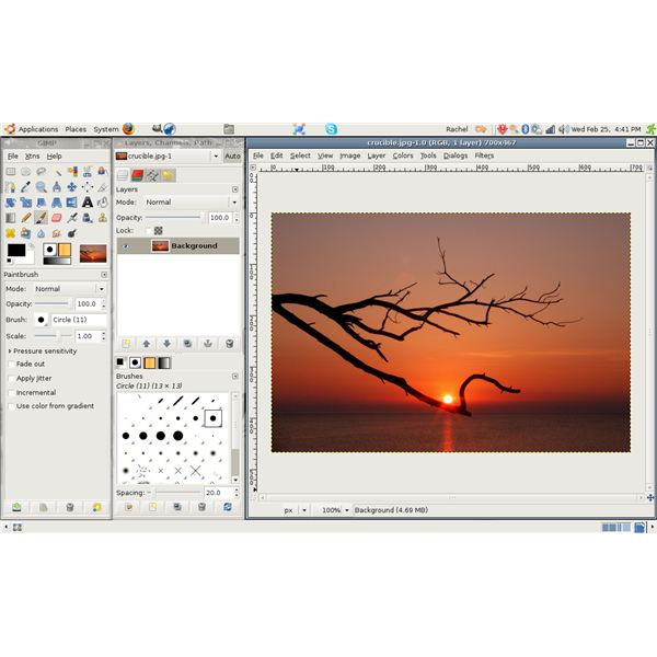 Learn How to Create Photo Frames with GIMP - Software Tutorial