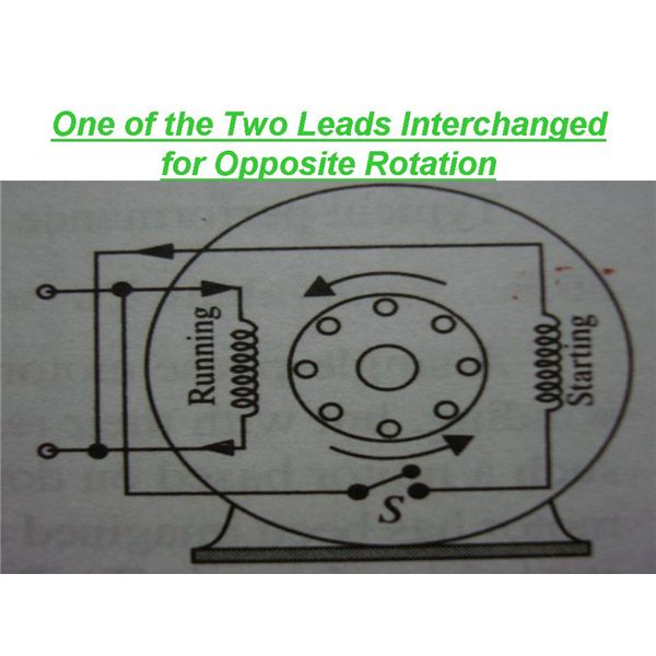 Split phase motor wiring - Learn how single phase motors are ... on