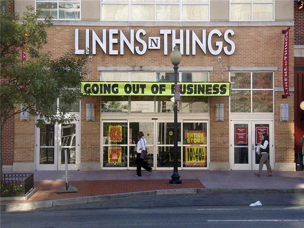 Linens 'n Things Stops Selling Things