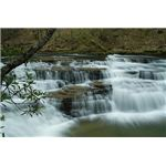 Shooting water at low level with slow shutter speed