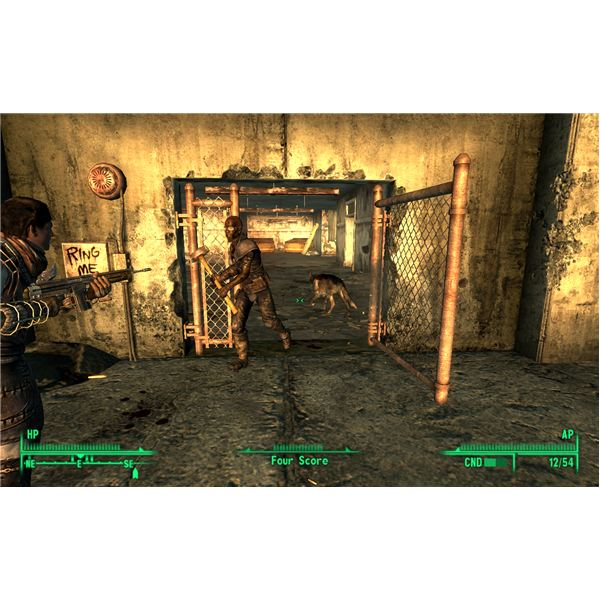 Fallout 3 - Head of State - Slavers Raiding the Temple of the Union