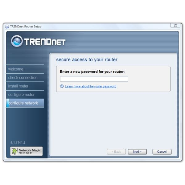 Install Router Router Password