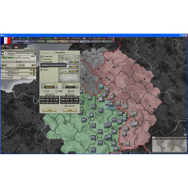 Hearts of Iron III: Assigining Air Missions