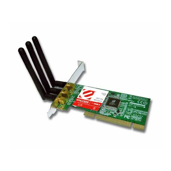 The Encore PCI Wireless provides wireless N at a low cost