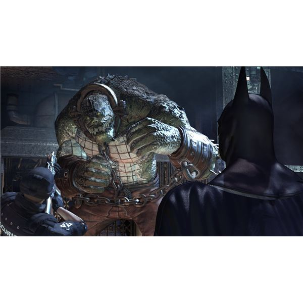 Batman: Arkham Asylum Villain Guide - Fighting Killer Croc