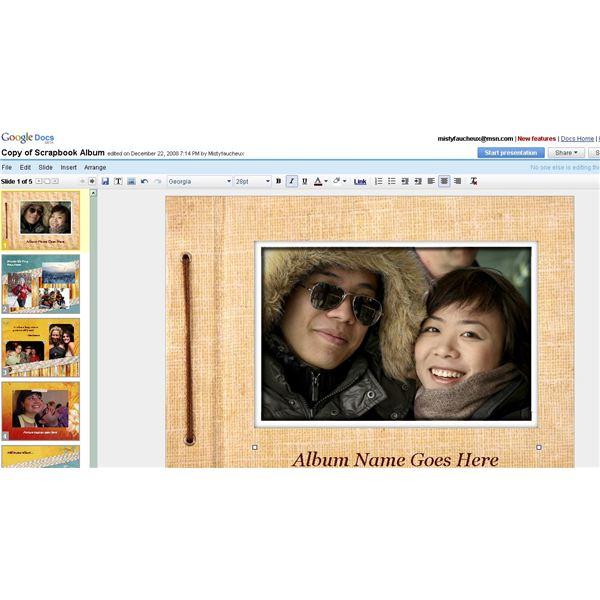 Use Google Docs To Create An Online Scrapbook