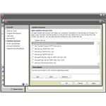 Security Center: Firewall Settings - System Services