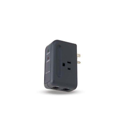 Belkin F9H220-TVL Travel surge protector with hidden s=awicewl plug