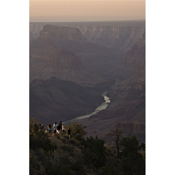 Colorado River from Desert View.