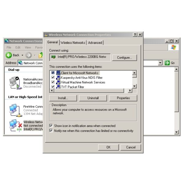 Create an Instant Wireless Hotspot Using Your Windows XP
