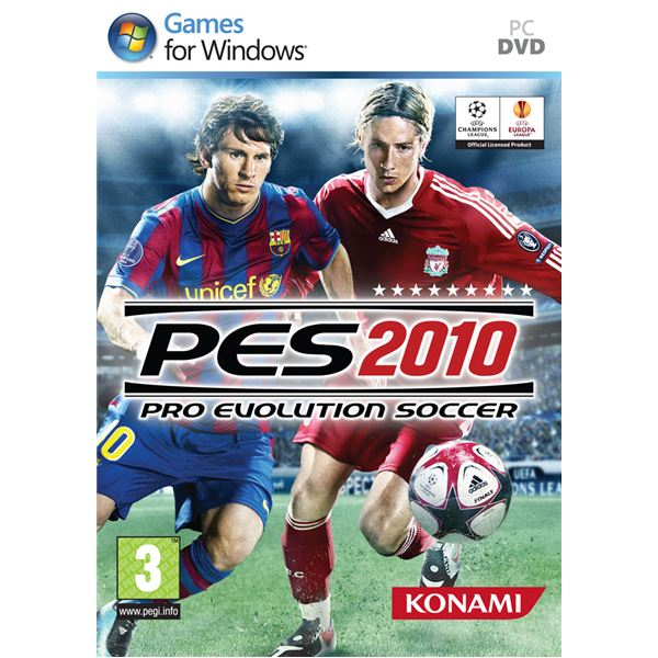 PES 2010 Cover