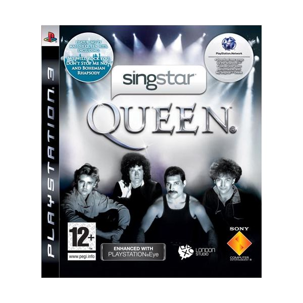 Playstation 3 Gamers' SingStar Queen Video Game Review: Why This is a Great Addition to the Sing Star Community