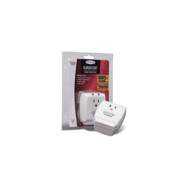 Belkin Surgecube Surge Protector 1 outlet Home series