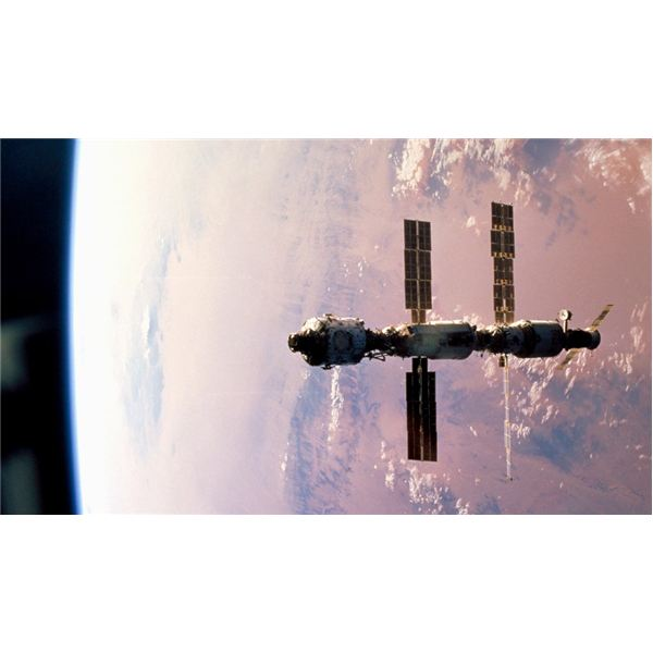 The ISS on Oct. 11, 2000