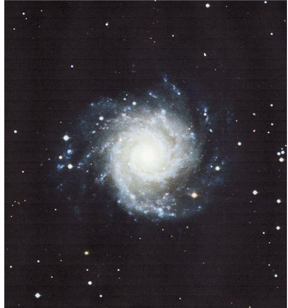 A spiral galaxy