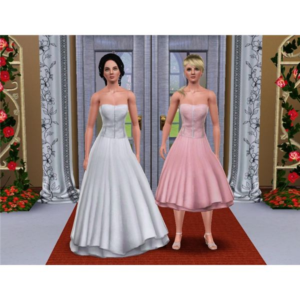 Wedding Altar Sims 3: Sims 3 Clothing Downloads