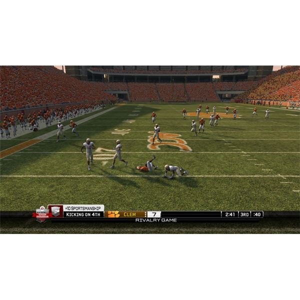 NCAA Football 10 for the PSP is fun