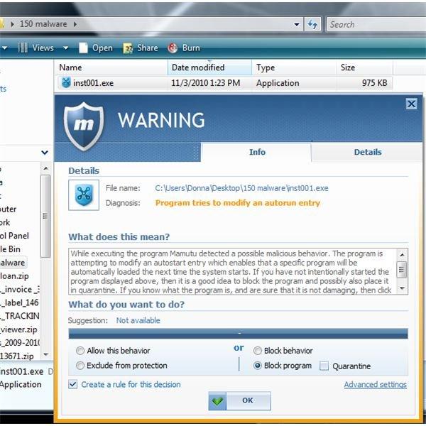 Mamutu Blocks Rogue Software
