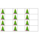 Make your Own Christmas Tree Gift Tags with Microsoft Word - step4