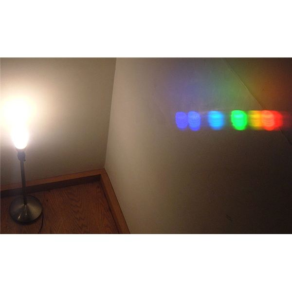 Compact Fluorescent Lamp Spectrum