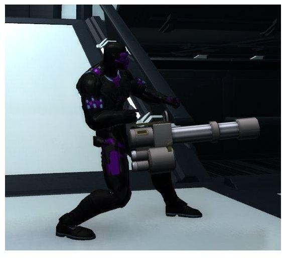 champions online gatling gun