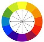 contrast color wheel