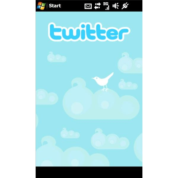 Twitter X-Panel for SE Xperia Windows Mobile Phone