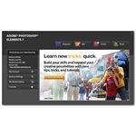 Photoshop Elements 7 Welcome Screen
