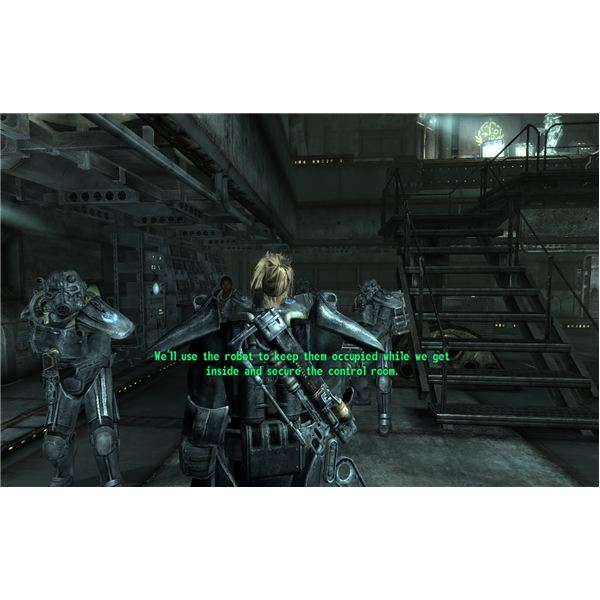 Power Armor Training in Fallout 3