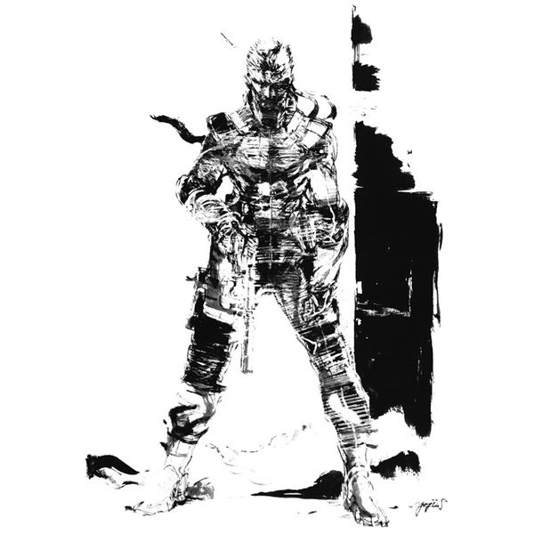 Metal Gear Solid Drawings - A Yoji Shinkawa Gallery