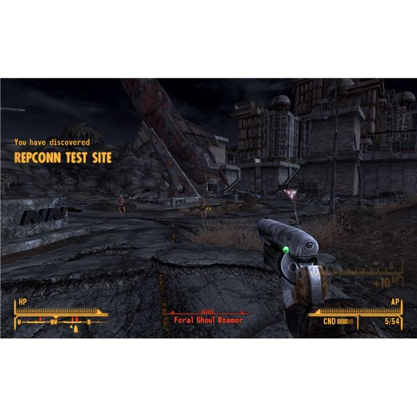Fallout: New Vegas - Come Fly With Me - Repconn Test Site