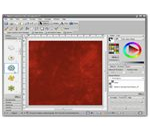 User Interface of Digital Scrapbook Artist