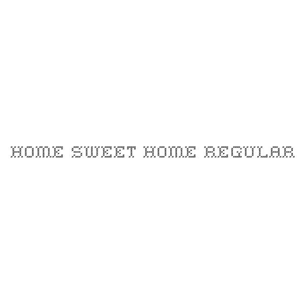 home-sweet-home-font