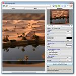 User Interface of AKVIS ArtSuite