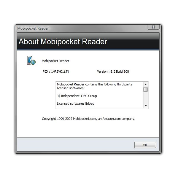 About Mobipocket Reader