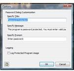 Password Dialog Customization