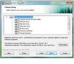 Custom Installation Method in KAV 2010