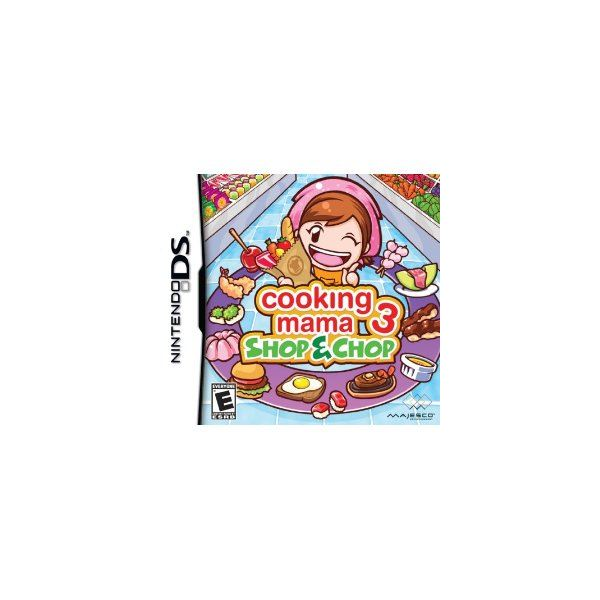 Cooking Mama 3 Lends a Hand in the Kitchen On The Nintendo DS - Check Out These Great Little Cooking Games To Wet Your Chops
