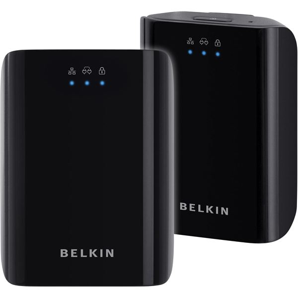These Belkin Powerline Adapters Are Large, But Good Looking