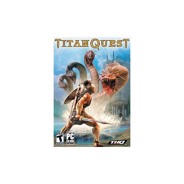 Titan Quest Epic Spears with Extra Damage Dealing Abilities