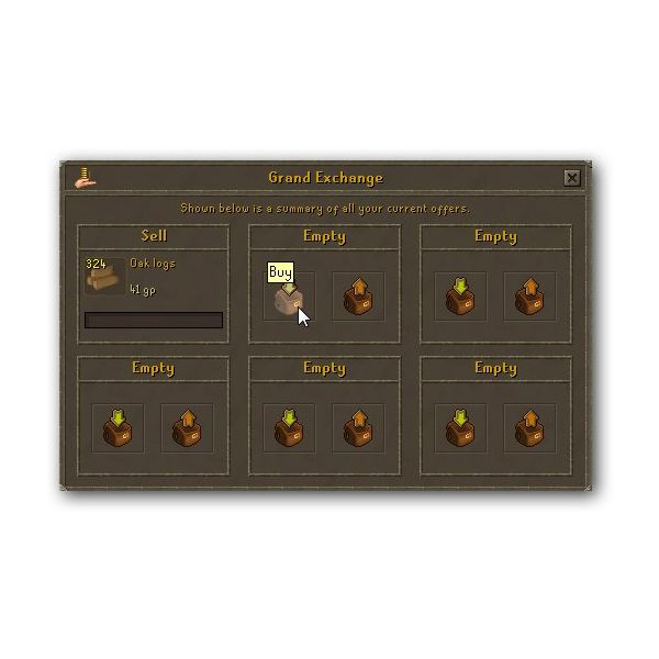 Runescape Grand Exchange - Buy and Sell Your Way to