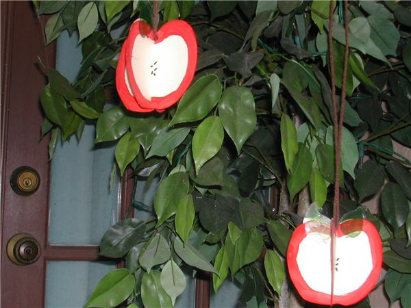 3D Hanging Apples