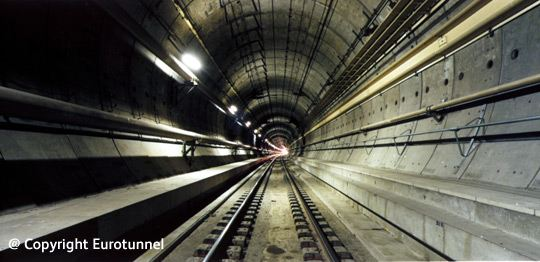 Channel Tunnel in France