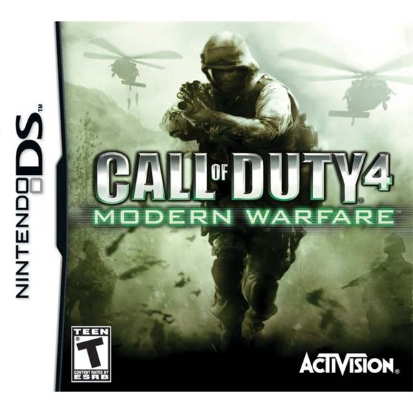 CoD 4: Modern Warfare cover