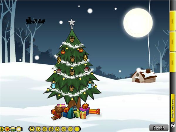 Decorate A Christmas Tree Games Online: Free Interactive