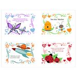 Children's Valentine Day Cards Publisher Template