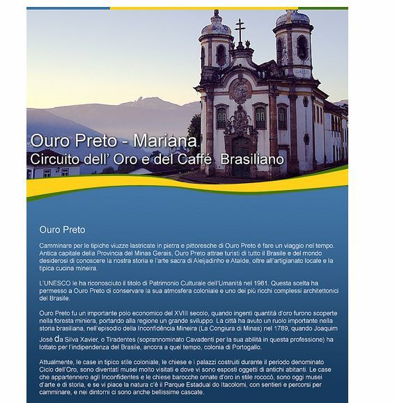 newsletter ouro preto - Newsletter Examples