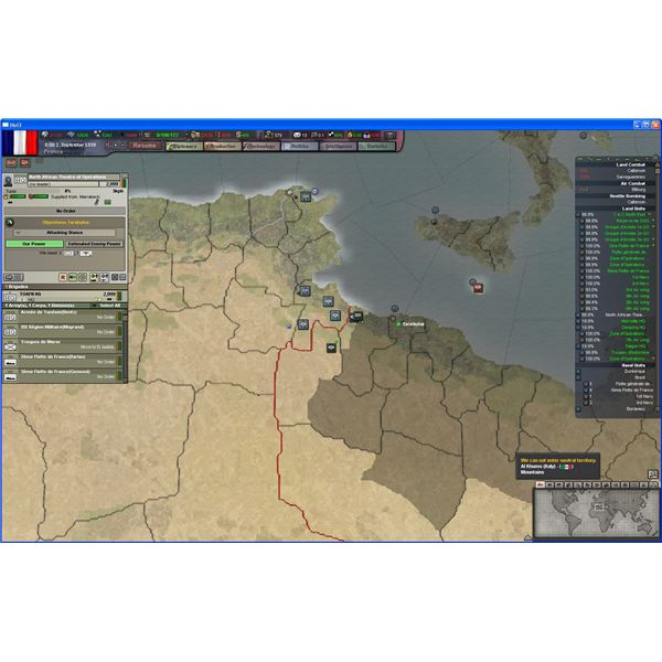 Setting AI Objectives in Hearts of Iron III