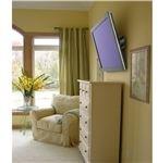 Bedroom flat screen TV wall mount height